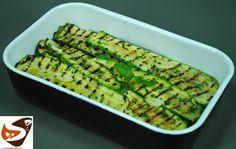 Zucchine grigliate: in padella, alla piastra o al forno - contorni (gril...