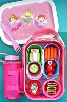 A fun lunch for kids packed in a yubo lunchbox featuring favorite finger foods #bentonbetterlunches