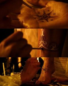 designs on hand and feet prince of persia princess - Google Search