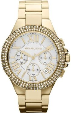 Best Buy Michael Kors Camille Stainless Steel White Dial Womens Watch - MK5756 at http://get.nazuka.net/review/product.php?asin=B00B83AHU6