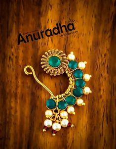 Nath Nose Ring, Nose Rings, Nose Jewelry, Jewelry Art, Maharashtrian Jewellery, 3d Art Drawing, Gold Earrings, Drop Earrings, Mehendi