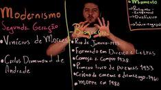 Aula 57 MODERNISMO no Brasil parte 9 Segunda Geração Vinícius de Moraes