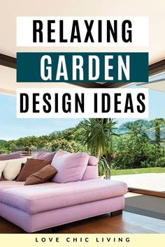 Feel like you're on holiday with these relaxing garden ideas. Garden inspiration to help you turn your garden into a holiday retreat | Summer garden design ideas | garden retreat inspiration | Garden Inspiration, Garden Ideas, Contemporary Garden Rooms, Garden Spaces, Summer Garden, Color Themes, Design Ideas, Trends, Stylish