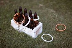 #Wedding ringtoss. More photos and lawn game ideas from North Alabama wedding at AL.com