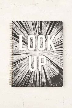 Look Up Notebook - Urban Outfitters