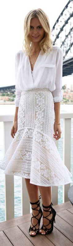 Lover skirt and bra, Zara blouse, Windsor Smith heels,