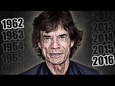 MICK JAGGER, 55 years in 55 seconds (1962-2016) - YouTube