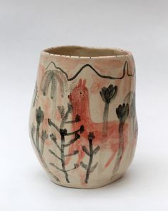 Alex Sickling hand-painted ceramics.