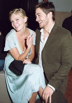 Jake Gyllenhaal with his ex-girlfriend Kirsten Dunst
