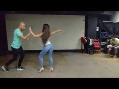 SALSA EN LINEA - Amor de Dios - Sergio y Noelia - Avanzado MAYO/16 - YouTube