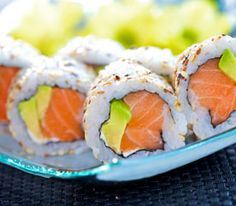 Salmon Rolls - my personal fav
