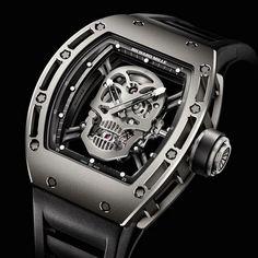 Tourbillon RM 052 Skull Watch by Richard Mille ♛
