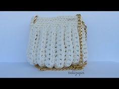 Penye ip ile çanta yapımı - YouTube