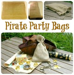 How To Make Pirate Party Bags