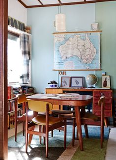 The weekend home of artist and designer Julie Patterson in the Blue Mountains, New South Wales. Photo by Sean Fennessy, styling by Lucy Feagins for thedesignfiles.net