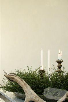Advent, Advent ... * ein Kranz-DIY * - Kranz aus Heidelbeerkraut