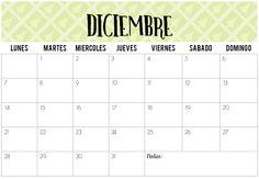 Calendarios de Diciembre 2015 | Imprimibles