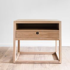 Amber Interiors just launched a collection of made-to-order furniture—shop the full line here. Custom Furniture, Wood Furniture, Furniture Design, Online Furniture, Furniture Websites, Furniture Outlet, Amber Interiors, Modern Side Table, Solid Oak