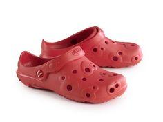 Schu'zz Sabot Globule Uni Rouge Femme 24,90€