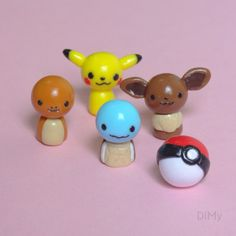 Pokemon Fimo polymer clay - Pâte polymère