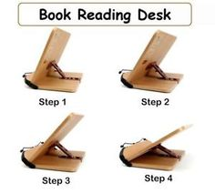 Book stand portable wooden reading recipe cookbook desk music portable bible book reading desk bookstand book holder in books accessories book stands malvernweather Images