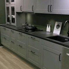 5 Modern Kitchen from Epoq. Modern Kitchen Cabinets, Kitchen Cabinet Design, Modern Kitchen Design, Kitchen Furniture, Interior Design Living Room, Kitchen Decor, New Kitchen Inspiration, Kitchen Island Dining Table, Bed Headboard Design