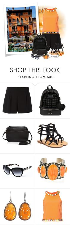 """Sur les bords du Lac"" by mamzelle-f ❤ liked on Polyvore featuring Boutique Moschino, Andrew Marc, Steven Alan, Mystique, Burberry, Harpo, NOVICA and Moschino"