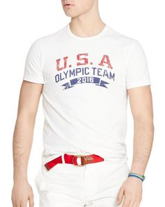 Polo Ralph Lauren Team Usa Graphic Tee Equipo De Usa 6c7f2afc4ef0f