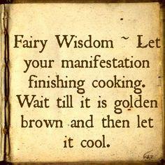 Fairy Wisdom from Elizabeth Saenz at theexpandedgateway.com