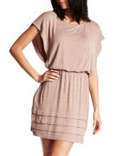 i love this nude colored dress for spring and summer with a pink pump i think :)