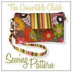 The Crochet Diva Convertible Clutch - Downloadable Pattern [1PA-Download-TCD-CC] - $9.00 : Pink Chalk Fabrics is your online source for modern quilting cottons and sewing patterns., Cloth, Pattern + Tool for Modern Sewists