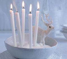 Dolce Vita: Weihnachts-Deko mit Kerzen