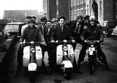 Scooters, 1958 #Scooters #Mod