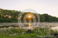 sunset-rye-island-cube-lakes-slovakia-photographed-sunset Rye, Lakes, Island, Celestial, Sunset, Outdoor, Outdoors, Islands, Sunsets