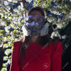 Gas Mask Girl, Respirator Mask, Lunges, Safety, Girls, Women, Security Guard, Toddler Girls, Daughters