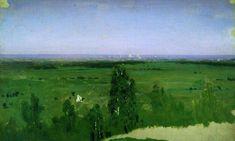 Вид на Москву с Воробьевых гор. 1882 -  Куинджи Архип Иванович