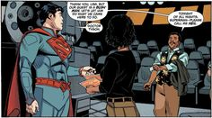 Superman Meets Astrophysicist: GalleryCredit: DC ComicsThe famous astronomer Neil deGrasse Tyson helped DC comics locate a real-life star to host the fictional planet Krypton.
