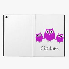 Awesome! This Purple Owl Just Add Name iPad Covers is completely customizable and ready to be personalized or purchased as is. It's a perfect gift for you or your friends.