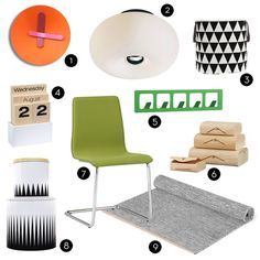 Mood boards and inspiration for my home office makeover on @Curbly!