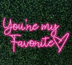Neon Signs Home, Custom Neon Signs, Home Signs, Wedding Photo Booth, Wedding Photos, Neon Quotes, Restaurant Lighting, Always Kiss Me Goodnight, You're My Favorite