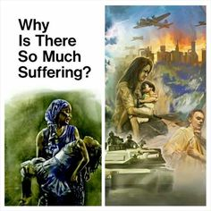 Close your eyes for a moment, think of your pain, the losses, sickness, the caos in the world Go to jw.org and ask that question.