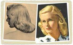 pageboy hair