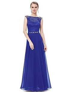 Ever Pretty Womens Formal Black Tie Wedding Guest Dress 16 US Sapphire Blue -- Check this awesome product by going to the link at the image.