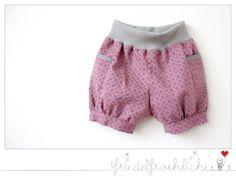 Kurze Hose/ Shorts  von friedafroehlich auf DaWanda.com
