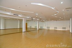 Another dance studio, but I would need a big TV so I can practice beyonce videos...LOL