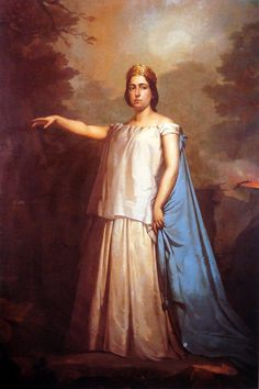 Lagrange, as Norma, by Louis Auguste Moreaux