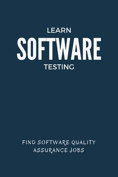 20 Best Websites to Learn Software Testing This age of software development requires many skilled professional to test and ensure high quality standards. Every company is spending large amount of their software budget on quality assurance of software. Agile Software Development, Software Testing, Web Development, Software Software, Manual Testing, Learn Programming, Computer Programming, Computer Science, Programming Languages