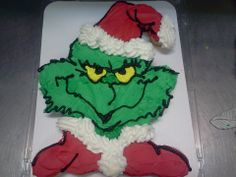 24 count cupcake cake...The Grinch