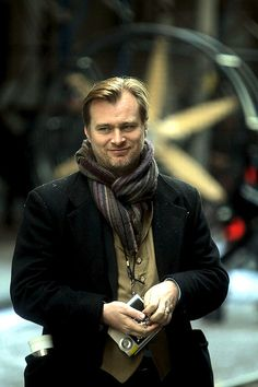 Seriously, the man of my dreams... Christopher Nolan is the king of creativity. Marry me.