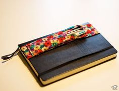 Porte crayon pour carnets nomades DIY
